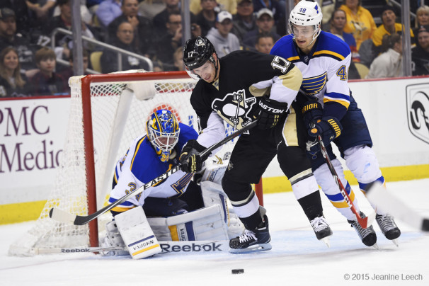 NHL: MAR 24 Blues at Penguins