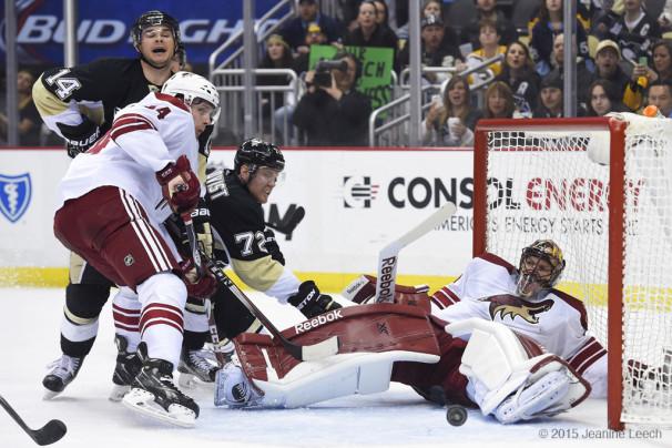 NHL: MAR 28 Coyotes at Penguins