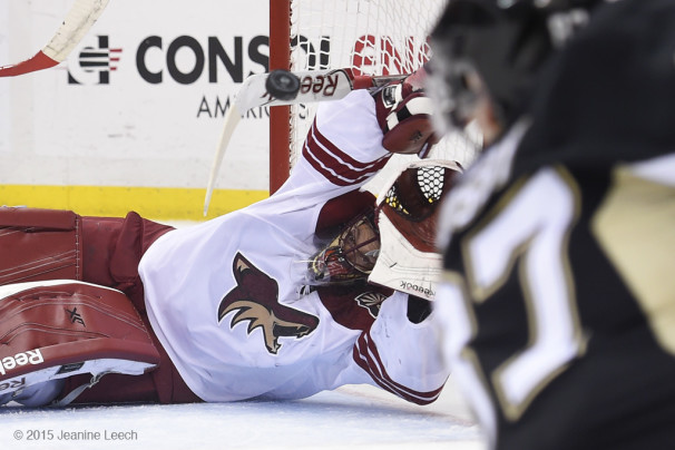 NHL: MAR 28 Coyotes at Penguins