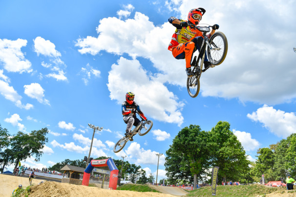 7 August 2016: Steel City Nationals at South Park BMX in Pennsylvania.
