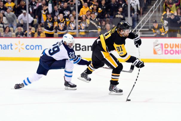 NHL: OCT 26 Jets at Penguins