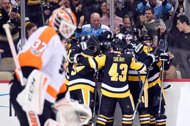 NHL: NOV 27 Flyers at Penguins
