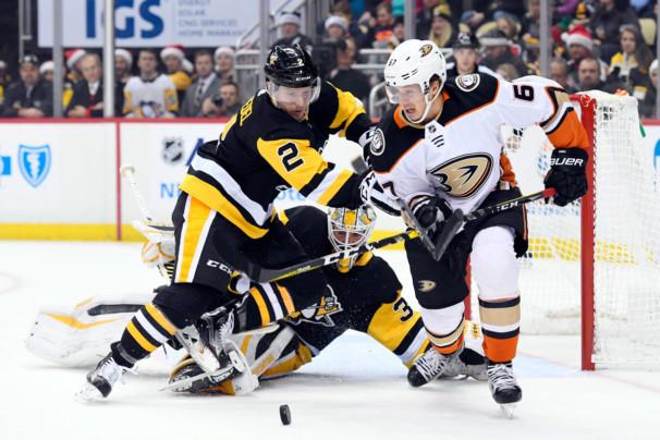 NHL: DEC 23 Ducks at Penguins