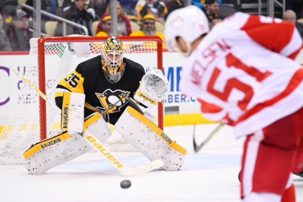 NHL: JAN 13 Red Wings at Penguins