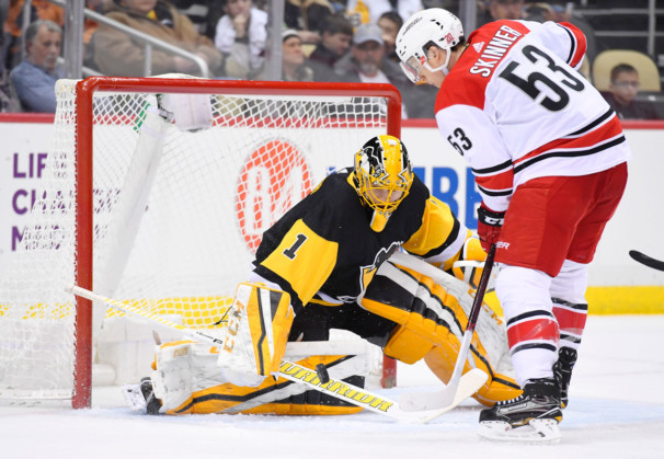 NHL: JAN 23 Hurricanes at Penguins
