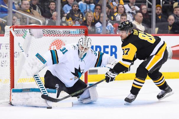 NHL: JAN 30 Sharks at Penguins